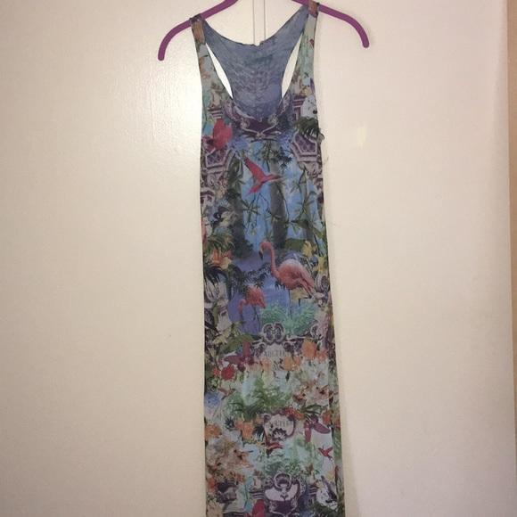 Jean Paul Gaultier Dresses   Skirts - Jean Paul Gaultier Tropical Dress 562dd4c15